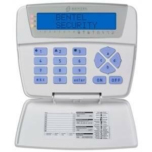 bentel tastiera allarme bentel filare display lcd serie classika bebkblcd