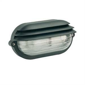 sovil plafoniera ovale palpebra grande da esterno nera 788/06
