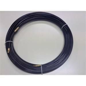 gli elettrici 10 metri di sonda tiracavo in nylon diametro 4mm 20891