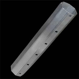 gli elettrici tubo ottagonale zincato per tapparelle diametro 60mm lunghezza 3mt 22208