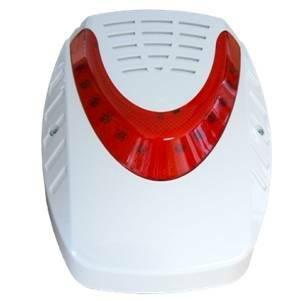 Gli elettrici sirena radio da esterno senza fili con led - Campanello senza fili da esterno ...