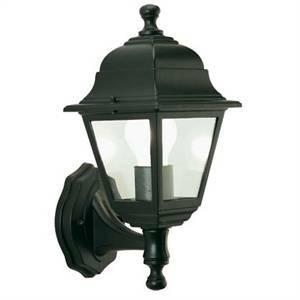 sovil sovil applique lanterna in alto nera da esterno 201/06