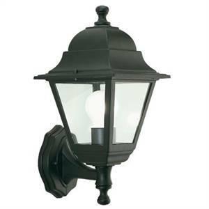 sovil lampada miniquadra in alto da giardino nera 952/06