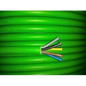 cavi al metro cavo multipolare fg7om1  5gx16 5 conduttori con sezione da 16mm. con giallo verde