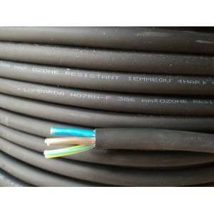 cavi al metro cavo neoprene h07rnf 3gx6, 3 conduttori con sezione da 6mm, con giallo verde colore nero h07rnf-3gx6