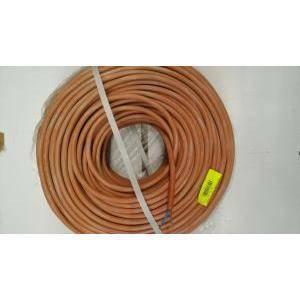 cavi al metro cavi per alte temperature fg4g4 2 conduttori x 1.5 di sezione con isolamento e guaina in gomma siliconica b2602150