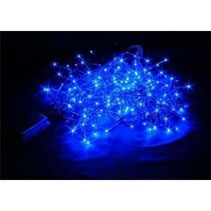 giocoplast minilucciola natalizia 8 metri per esterno 192 led blu 14309667