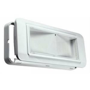 beghelli lampada d'emergenza doppia riflessione 6w completa led 4101