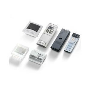 elvox elvox kit videocitofono a colori espandibile 6611/k