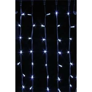 giocoplast giocoplast tenda natalizia prolungabile lucciolona con 200 led bianchi 1 metro 14409730