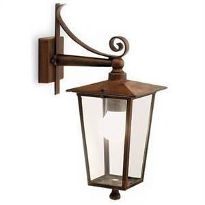 sovil lanterna verso il basso modello notorius colore ruggine 864/11