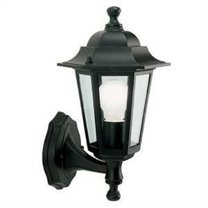 sovil sovil applique esagonale modello lampara 60w colore nero 947/06