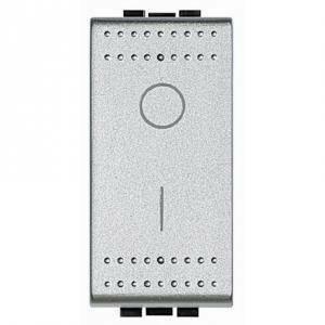 bticino light tech interruttore 2 poli 16a grigio nt4002n