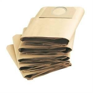 karcher 5 sacchetti filtro carta doppio strato 6.959-130.0 6959130