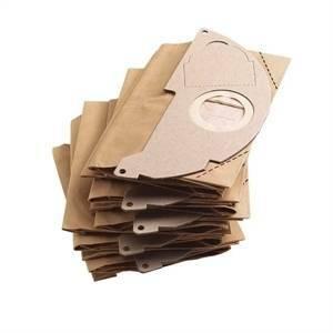 karcher karcher 5 sacchetti filtro carta doppio strato 6.904-322.0 6904322