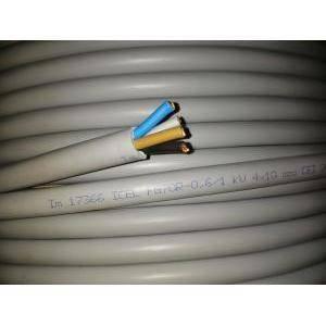 cavi al metro cavo elettrico  pvc isolato fg70r 4 conduttori da 10 mm di sezione senza giallo verde prezzo al metro fg7-4x10