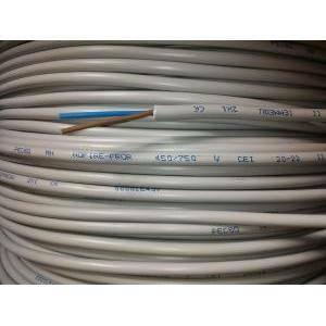 cavi al metro cavo nofire fror 2x1, 2 conduttori di sezione da 1 mm nofirefl-2x1
