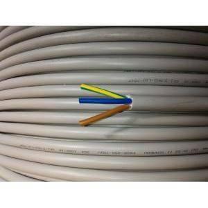 cavi al metro cavo nofirefl 3x4, 3 conduttori da 4mm di sezione con giallo verde
