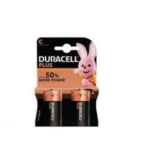 duracell plus power blister 2 mezze torce 1,5v d mn1400
