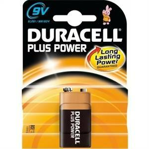 duracell duracell plus power batteria transistor 9v mn1604