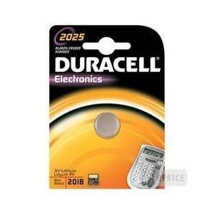 duracell electronics pila bottone al litio 3v per calcolatrici dl2025