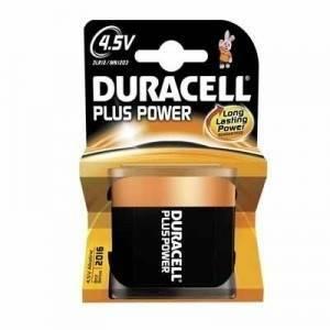 duracell duracell plus power pila piatta 4,5v d mn1203