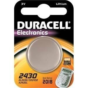 duracell duracell electronics pila bottone al litio 3v per orologi dl2430
