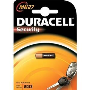 duracell duracell security batteria per dispositivi allarme e telecomandi mn27