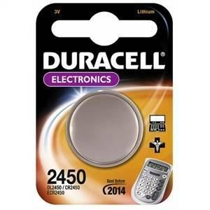 duracell duracell electronics pila bottone al litio 3v per apparecchi medicali dl2450
