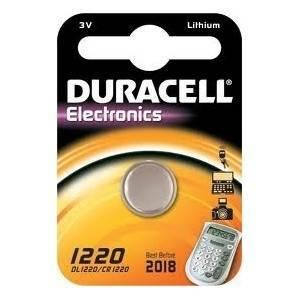 duracell duracell electronics pila bottone al litio 3v per fotocamere dl1220