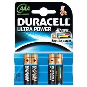 duracell duracell ultra power 4 batterie ministilo aaa powercheck up2400