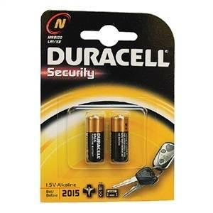 duracell security 2 micro stilo per telecomandi n mn9100b2