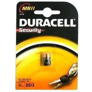 duracell duracell security batteria per dispositivi allarme mn11