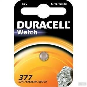 duracell watch pila bottone argento 1,5v per orologi d377