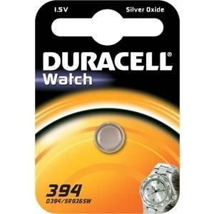 duracell watch pila bottone argento 1,5v per orologi d394