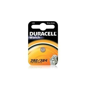 duracell duracell watch pila bottone argento 1,5v per orologi d392