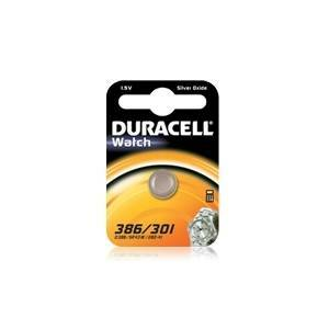 duracell duracell watch pila bottone argento 1,5v per orologi d386