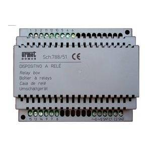 urmet dispositivo rele commutazione automatica su 2 ingressi 788/51