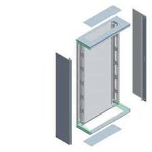 siemens struttura quadro alpha da parete flat pack ip30 e ip43 dim. l h p 600x1200x250 8gk2
