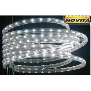 giocoplast tubo a led natalizio tapelight luce bianca a led ventdita e prezzo al metro 16711220/1mt