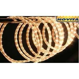 giocoplast tubo a led natalizio tapelight luce calda a led ventdita e prezzo al metro 16711221/1mt