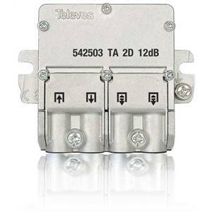 televes mini-derivatore easy 2vie 5/2400 mhz 542503