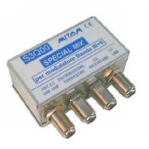 mitan rimodulatore da palo mix tv/sat/decoder banda iii+s mfsc200 ms3q00