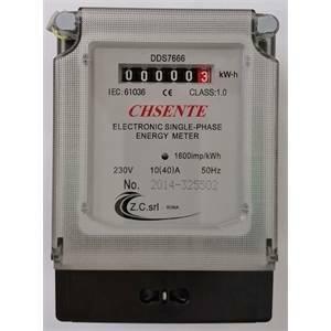 z.c. contatore di energia elettronico monofase 230v 5+1cifre dds7666