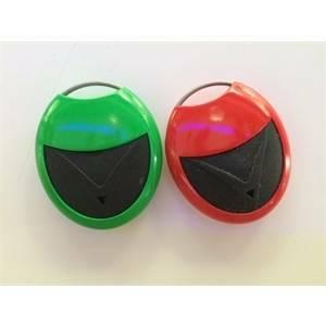 elettroservice telecomando multifrequenza 3 canali colore rosso ape-327/1105.r