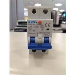 chint interruttore magnetotermico differenziale 1p+n 25a 6ka 30ma nb310l 660006