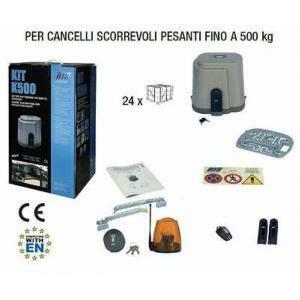 rib kit per cancelli scorrevoli k500 fino a 500 kg ad00500