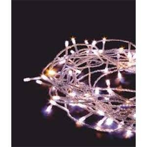 giocoplast tenda natalizia lucciolona a 700 led 240v luce bianca 14410306