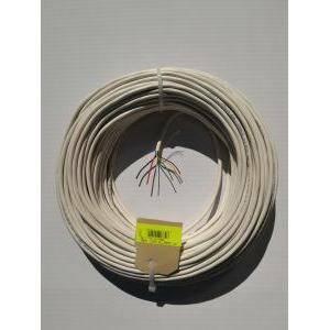 cavi 50 metri cavo allarme schermato 6 conduttori di cui  4x0,22 mm +2x0,5 mm fa-12/b50