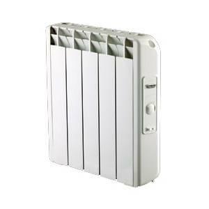 farho farho calorifero termosifone radiatore elettrico con termostato analogico 550w alejandria an-5